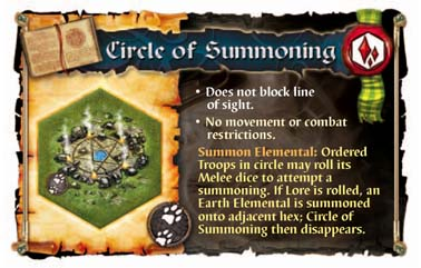 Earth Elemental Circle of Summoning