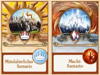 Mittelalter-Macht-Symbole