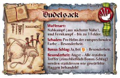 Dudelsack-Karte