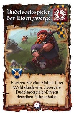 Zwergen-Dudelsackspieler