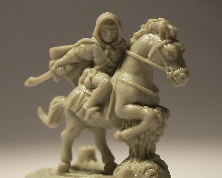 Un voleur à cheval