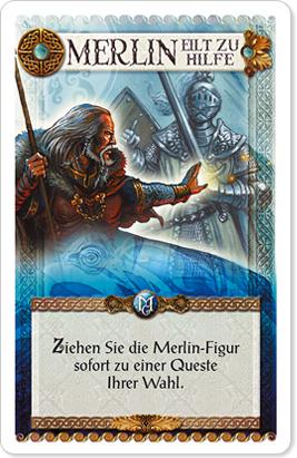 Merlin eilt zu Hilfe