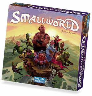 Small World, a game by Philippe Keyaerts