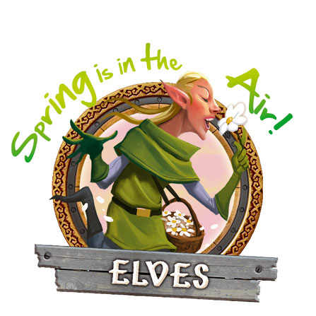Elves - Spring is in the air!