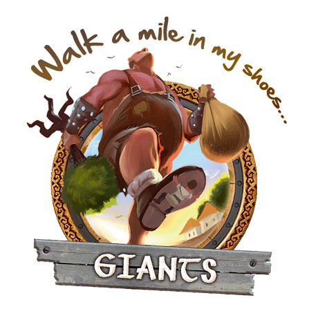 Giants - Walk a mile in my shoes...