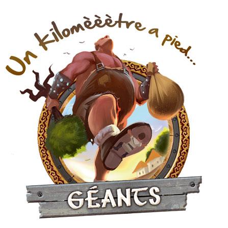Géants - Un kilomèèètre à pied...