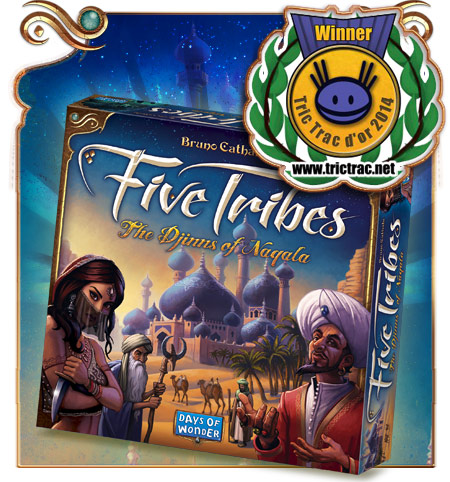 Five Tribes, Tric Trac d'Or 2014