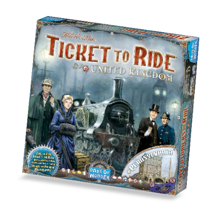 Ticket to Ride Royaume-Uni