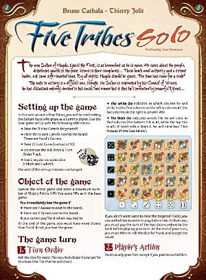 Five Tribes Solo