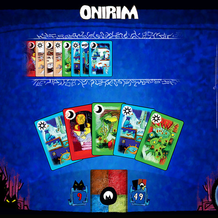 Onirim screenshot