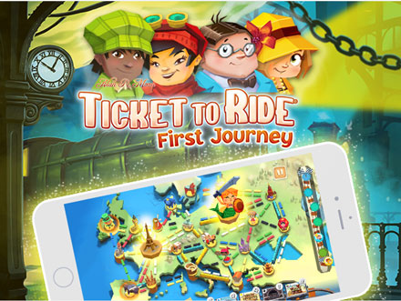 Ticket to Ride First Journey is Available on Android, iOS