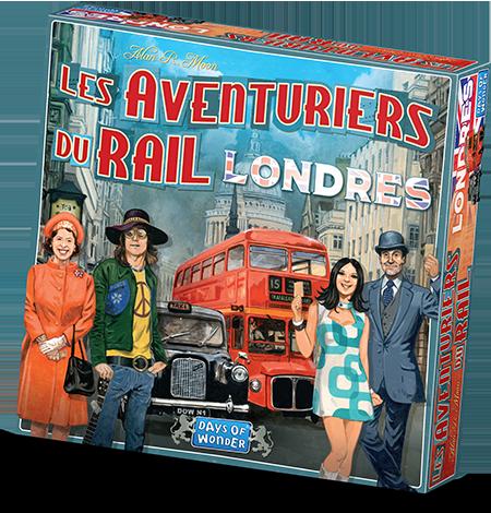 Les Aventuriers du Rail : Londres, this is London calling !