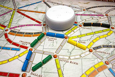 Première mondiale : Lancement de Skills Alexa pour Les Aventuriers du Rail