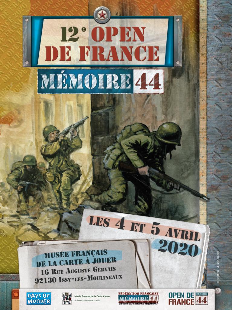 Les inscriptions pour le 12e Open de France de Mémoire 44 sont ouvertes.