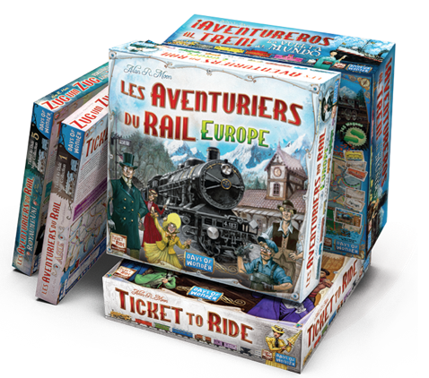 Où acheter Les Aventuriers du Rail: Europe en ce moment