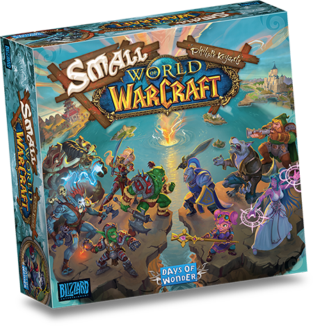 Partez à la conquête d'Azeroth dans Small World of Warcraft !